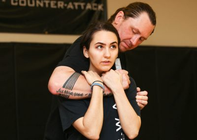 A.C.W.A. Combatives - Blade Defense from Behind