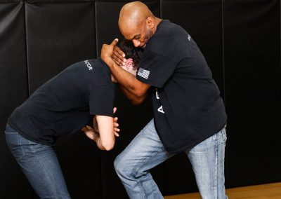 A.C.W.A. Combatives - Clinch Fighting