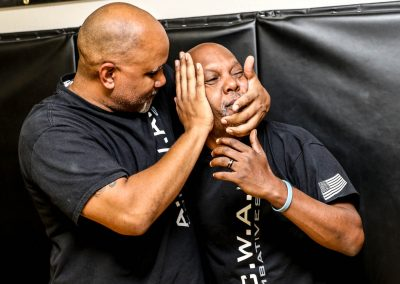 A.C.W.A. Combatives - Controlling the head