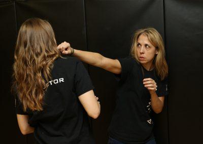 Hammer fist training