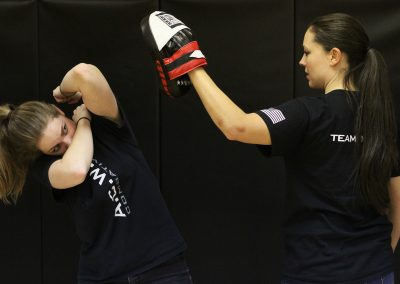 A.C.W.A. Combatives - Leaning Hammer Fist