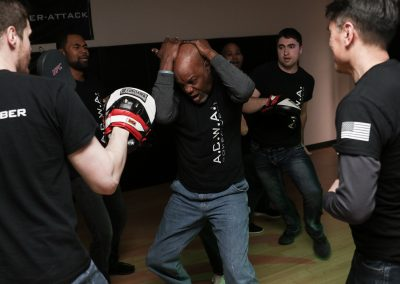 A.C.W.A. Combatives - Multiple Attacker Training in low light