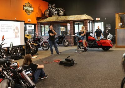 Teaching at Harley-Davidson