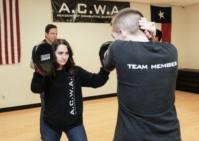 A.C.W.A. Combatives - Pad Drills